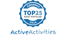 Active Activities Top 25 2016
