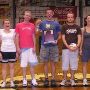Volleyball 2008 B Grade Runners Up