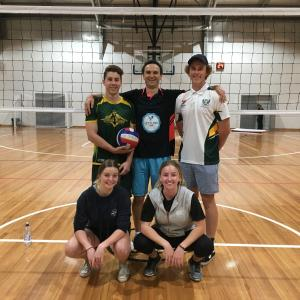 Volleyball Div 2 winners June 2017