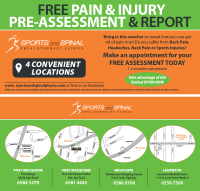 sports and spinal physiotherapy clinics